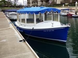 Used Duffy 22 Cuddy Saltwater Fishing Boat For Sale