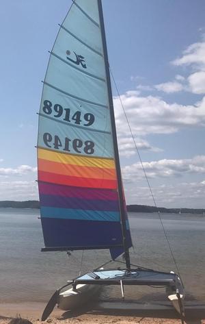 Used Hobie Cat 16 Daysailer Sailboat For Sale