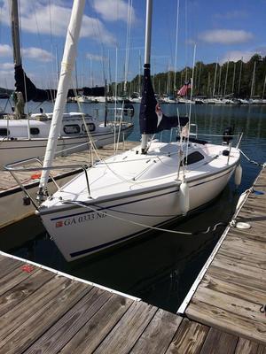 Used Catalina Capri 22 Daysailer Sailboat For Sale