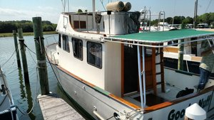 Used Marine Trader 34 Trawler Boat For Sale