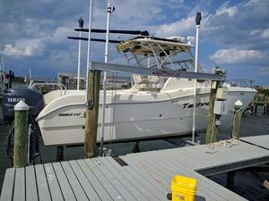 Used World Cat 270 EC Power Catamaran Boat For Sale