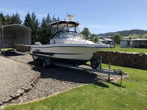 Used Hydra-Sports 2450 Anniversary Edition Walkaround Fishing Boat For Sale