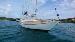 Used Bruce Roberts Spray Ketch Sailboat For Sale
