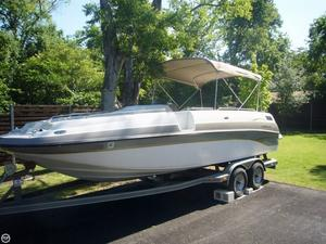 Used Crownline 238 Deck Boat For Sale