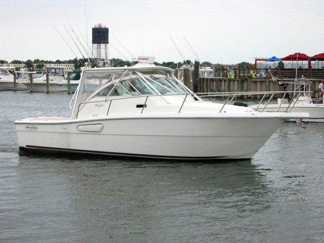 2000 used rampage express sports fishing boat for sale for Express fishing boats for sale
