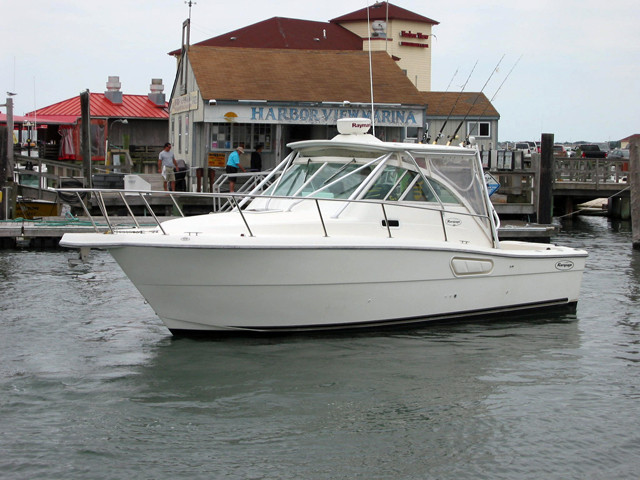 2000 used rampage express sports fishing boat for sale for Fishing boats for sale nj