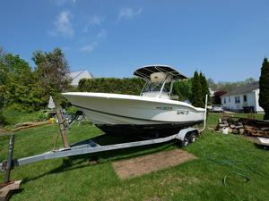 Used Scout 210 Sportfish Saltwater Fishing Boat For Sale