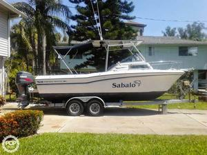 Used Grady-White Seafarer 22 Walkaround Fishing Boat For Sale