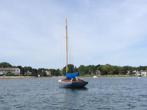 Used Crosby Wianno Senior Racer and Cruiser Sailboat For Sale