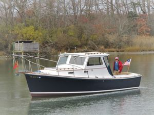 Used Dyer Trunk Cabin Hardtop Downeast Fishing Boat For Sale