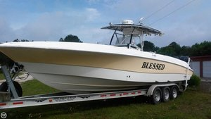 Used Wellcraft 35 CCF Center Console Fishing Boat For Sale