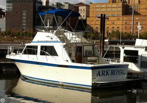 Used Uniflite 32 Sedan Bridge Sports Fishing Boat For Sale
