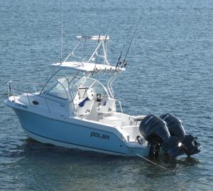 Used Polar 2300 Walkaround Center Console Fishing Boat For Sale