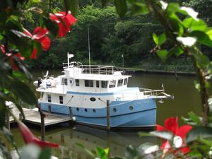 Used Mirage Great Harbour Gh-47 Trawler Boat For Sale