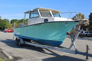 Used May-Craft 2550 Pilothouse Boat For Sale