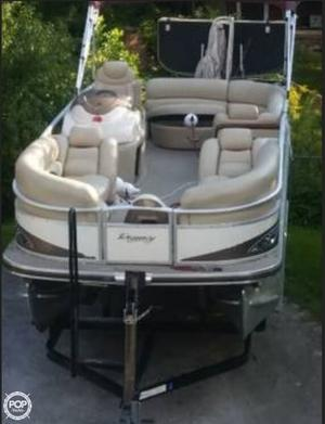 Used Sun Tracker 22 Party Barge Pontoon Boat For Sale