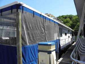 Used Waterhouse 14 X 60 Houseboat House Boat For Sale