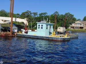 Used Custom Built 38 Push/Pull Tug Utility Boat For Sale