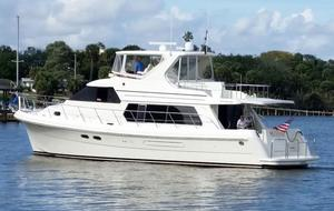 Used Hampton Yachts 558 Pilothouse Cruiser Boat For Sale