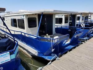 Used Master Fabricators 14 x 47 House Boat For Sale