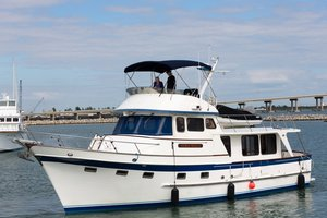 Used Defever Raised Pilothouse Trawler Boat For Sale