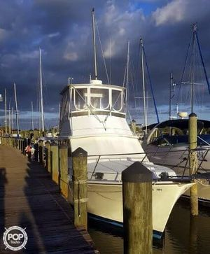 Used Cape Dory Offshore 36 Flybridge Cruiser Sports Fishing Boat For Sale