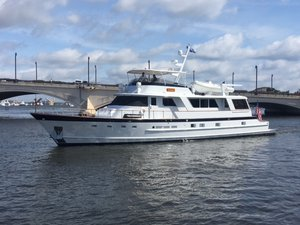 Used Burger Flush Deck Motor Yacht For Sale