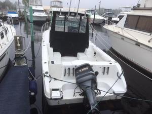 Used Seaswirl Striper 2601 Walkaround O/B Convertible Fishing Boat For Sale
