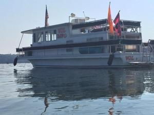 Used Gibson Lazy CRUZ 12x42 Houseboat House Boat For Sale
