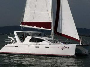 Used Admiral Executive 40 Catamaran Sailboat For Sale