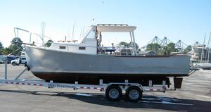 Used Sisu Diesel Commercial Boat For Sale