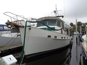 Used Kadey-Krogen 42 Pilothouse Trawler Boat For Sale