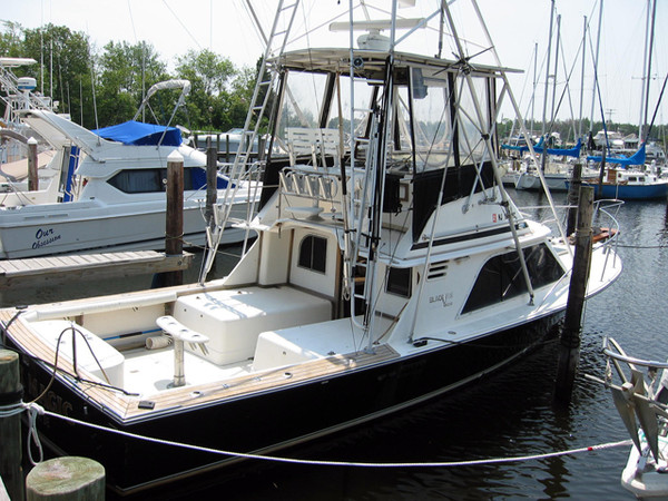 Used Blackfin Sports Fishing Boat For Sale