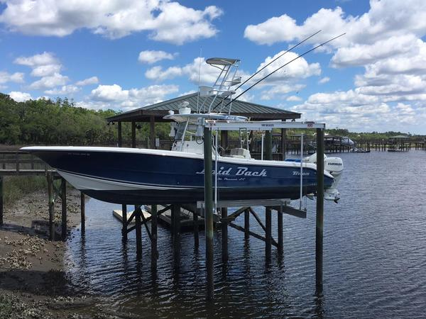 Used Triton 351 CC Center Console Fishing Boat For Sale