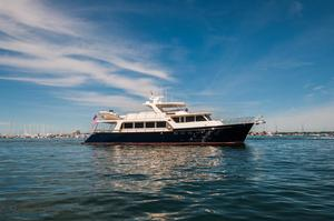 Used Marlow 78E Marlow Luxury Motor Yacht Express Cruiser Boat For Sale