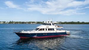 Used Hunt Yachts 80 Ocean Series Motor Yacht For Sale