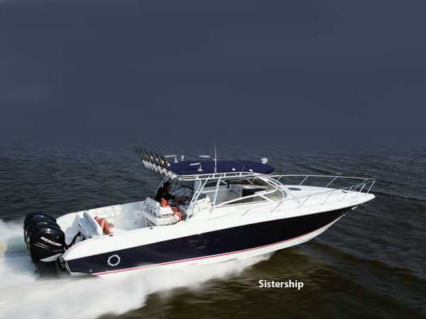 Used Fountain 38 LX Sportfish Sports Fishing Boat For Sale