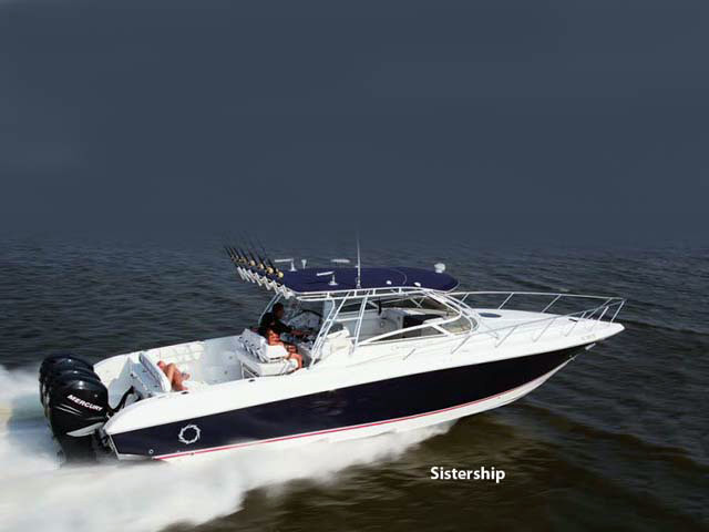 2009 used fountain 38 lx sportfish sports fishing boat for for Fishing boats for sale in ny