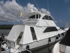Used Viking 64 Enclosed Bridge Sports Fishing Boat For Sale