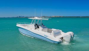 Used Deep Impact 33 Cabin Cuddy Cabin Boat For Sale
