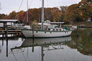 Used Hampton 43 Pilot House Cutter Cruiser Sailboat For Sale