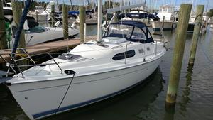 Used Hunter 306 Cruiser Sailboat For Sale