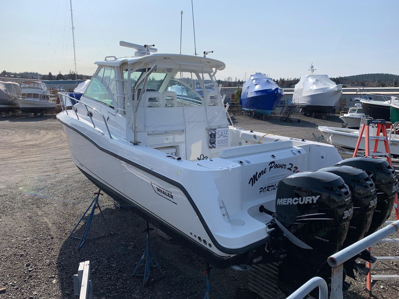 2013 Used Boston Whaler 345 Conquest Sports Fishing Boat For