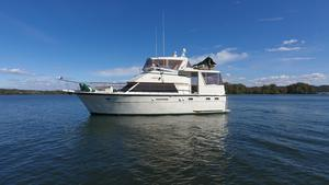 Used Hatteras 43 Double Cabin Trawler Boat For Sale