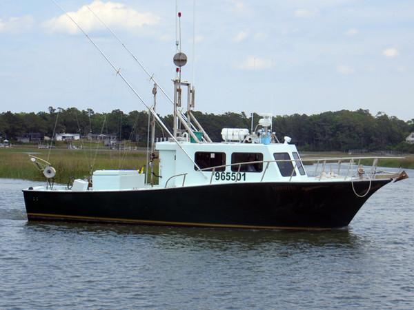 Used Morgan Sportfish Trawler Boat For Sale