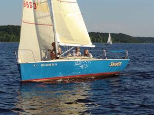 Used Pocket Rocket 22 Racer and Cruiser Sailboat For Sale
