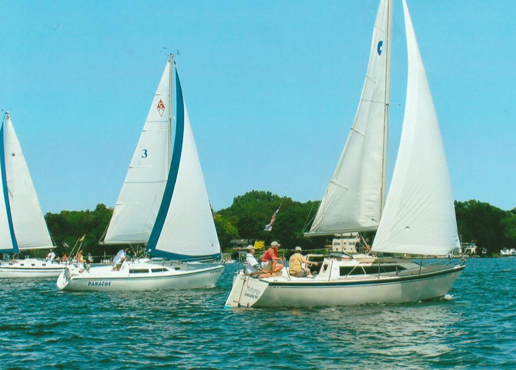 1987 Used O'day 272 Cruiser Sailboat For Sale - $5,000 - Afton, MN Oday Wiring Diagram on