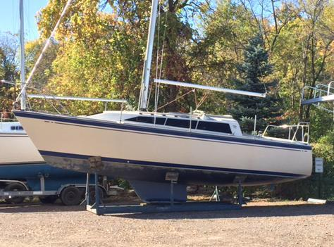 1987 Used O'day 272 Cruiser Sailboat For Sale - $5,000 ... Oday Wiring Diagram on