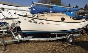 Used Com Pac Sun Cat 17 Daysailer Sailboat For Sale