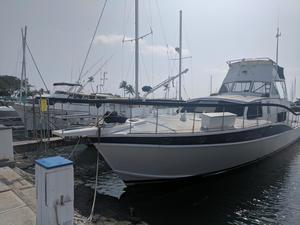 Used Allen Quimbly Bristol Fly Bridge Aft Cabin Boat For Sale